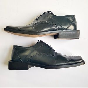 Fratelli Square Toe & Heel Sole Dress Shoe